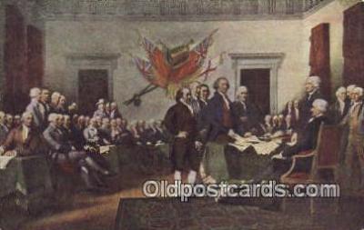 pol001268 - George Washington, 1st President USA, Political, Old Vintage Antique Postcard Post Card