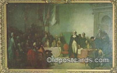pol001270 - George Washington, 1st President USA, Political, Old Vintage Antique Postcard Post Card
