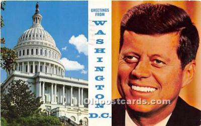pol035472 - John F Kennedy Postcard