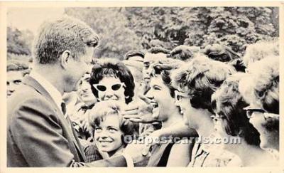 pol035479 - John F Kennedy Non Postcard Backing
