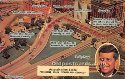 pol035493 - John F Kennedy Postcard