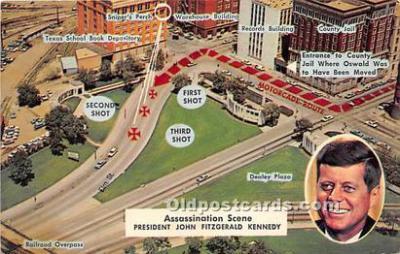 pol035505 - John F Kennedy Postcard