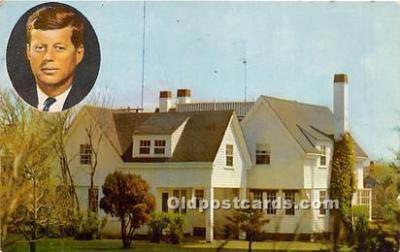 pol035516 - John F Kennedy Postcard