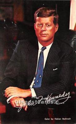 pol035524 - John F Kennedy Postcard