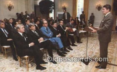 pol040001 - Ronald Regan 40th USA President Postcard Postcards