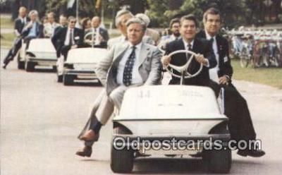 pol040072 - Ronald Regan 40th USA President Postcard Postcards