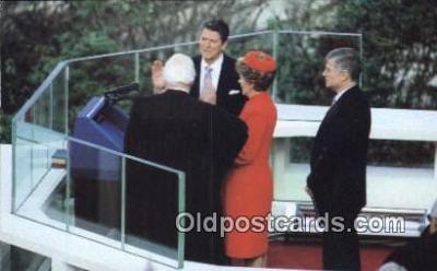 pol040082 - Ronald Regan 40th USA President Postcard Postcards
