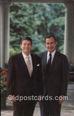 pol040103 - Ronald Regan 40th USA President Postcard Postcards