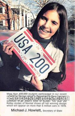 pol200107 - Michael J Howlett Secretary of State Political Postcard Post Card