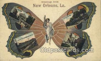Greetings from New Orleans, LA, USA
