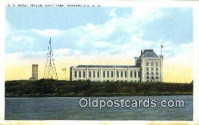 U.S. Naval Prison, Navy Yard, New Hampsir, USA