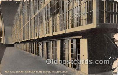 New Cell Blocks, Michigan State Prison