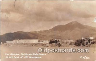 Real Photo - San Quentin, California State Prison
