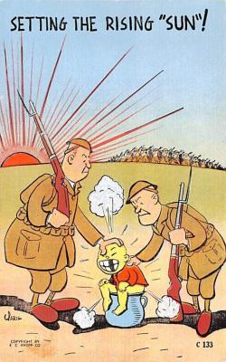 prp002011 - Propaganda Post Card Old Antique Vintage