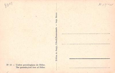 prp002057 - Propaganda Post Card Old Antique Vintage  back