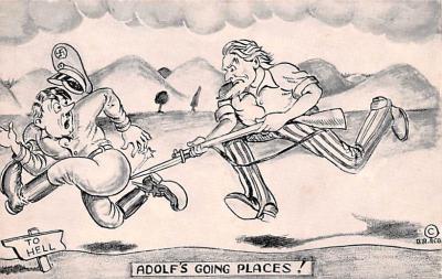 prp002171 - Propaganda Post Card Old Antique Vintage