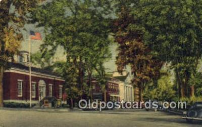 pst001073 - Plymouth, NH USA,  Post Office Postcard, Postoffice Post Card Old Vintage Antique