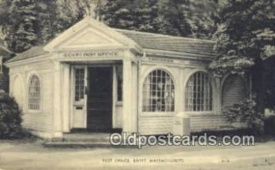 pst001112 - Egypt, Mass USA,  Post Office Postcard, Postoffice Post Card Old Vintage Antique