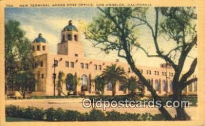 pst001138 - Los Angeles, CA USA,  Post Office Postcard, Postoffice Post Card Old Vintage Antique