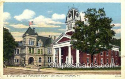 pst001249 - Montpelier, VT USA,  Post Office Postcard, Postoffice Post Card Old Vintage Antique