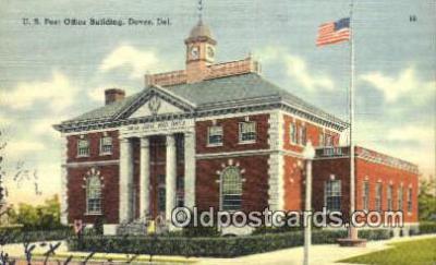 pst001298 - Dover, DE USA,  Post Office Postcard, Postoffice Post Card Old Vintage Antique