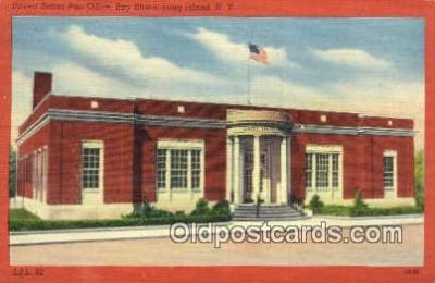pst001351 - Long Island, NY USA,  Post Office Postcard, Postoffice Post Card Old Vintage Antique