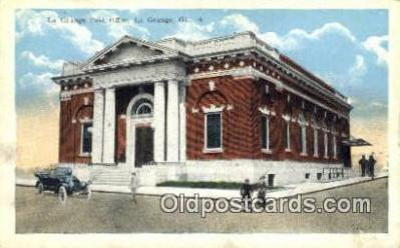 pst001374 - La Grange, GA USA,  Post Office Postcard, Postoffice Post Card Old Vintage Antique