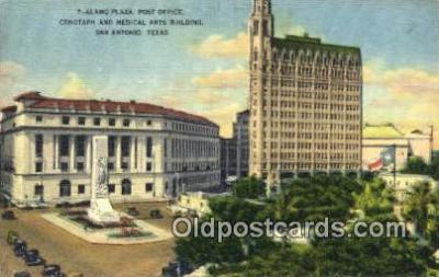 pst001376 - San Antonio, TX USA,  Post Office Postcard, Postoffice Post Card Old Vintage Antique