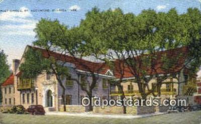 pst001427 - St Augustine, FL USA,  Post Office Postcard, Postoffice Post Card Old Vintage Antique