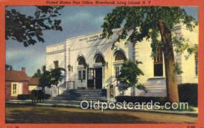 pst001462 - Long Island, NY USA,  Post Office Postcard, Postoffice Post Card Old Vintage Antique