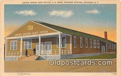 United States Post Office, US Naval Training Station