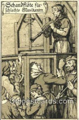 pun001007 - Punishment Tourcher Postcard Postcards