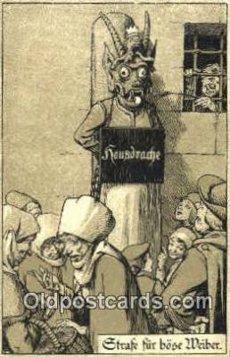 pun001008 - Punishment Tourcher Postcard Postcards
