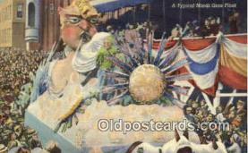 par001014 - Mardi Gras, New Orleans, LA USA Parade, Parades, Postcard Postcards