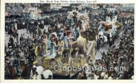 par001019 - Mardi Gras, New Orleans, LA USA Parade, Parades, Postcard Postcards