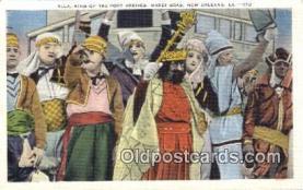 par001042 - Mardi Gras, New Orleans, La, Usa Parade, Parades, Postcard Postcards
