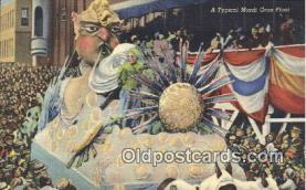 par001047 - Mardi Gras, New Orleans, La, Usa Parade, Parades, Postcard Postcards