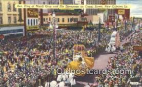 par001049 - Mardi Gras, New Orleans, La, Usa Parade, Parades, Postcard Postcards