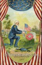 pat001002 - Decoration Day Patriotic Postcard Postcards
