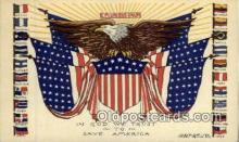 pat001072 - Patriotic Postcard Postcards