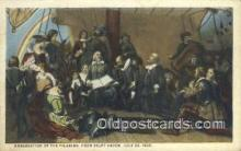 pat001079 - Patriotic, Old Vintage Antique Postcard Post Card