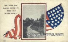 pat001089 - Patriotic, Old Vintage Antique Postcard Post Card