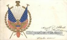 pat001092 - Patriotic, Old Vintage Antique Postcard Post Card