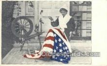 pat001097 - Betsy Ross Patriotic, Old Vintage Antique Postcard Post Card