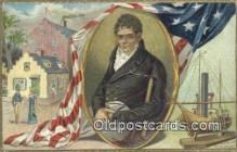 pat001104 - Patriotic, Old Vintage Antique Postcard Post Card