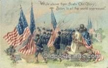 pat001114 - Patriotic, Old Vintage Antique Postcard Post Card