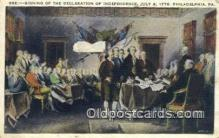 pat001170 - Patriotic, Old Vintage Antique Postcard Post Card