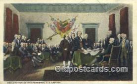 pat001180 - Patriotic, Old Vintage Antique Postcard Post Card