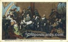 pat001186 - Patriotic, Old Vintage Antique Postcard Post Card
