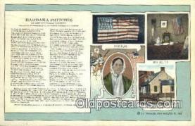 pat001195 - Patriotic, Old Vintage Antique Postcard Post Card